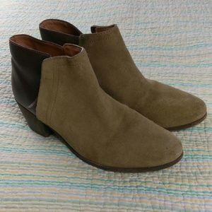 Madewell 8.5 The Cait Boots Shoes Leather Booties